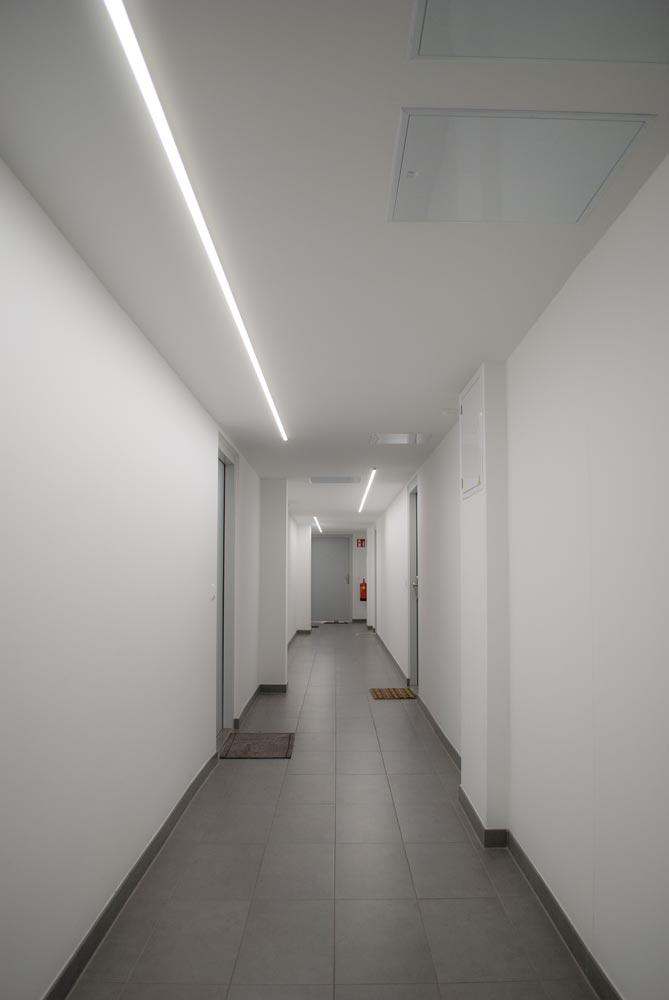 SML LED Schichtgründe LED Streifen Stiegenhaus