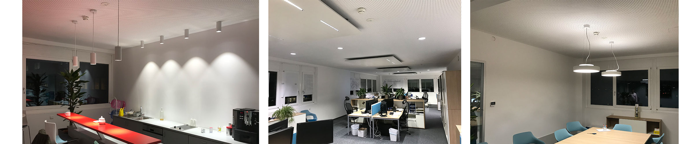 Bürobeleuchtung mit SML LED Produkten