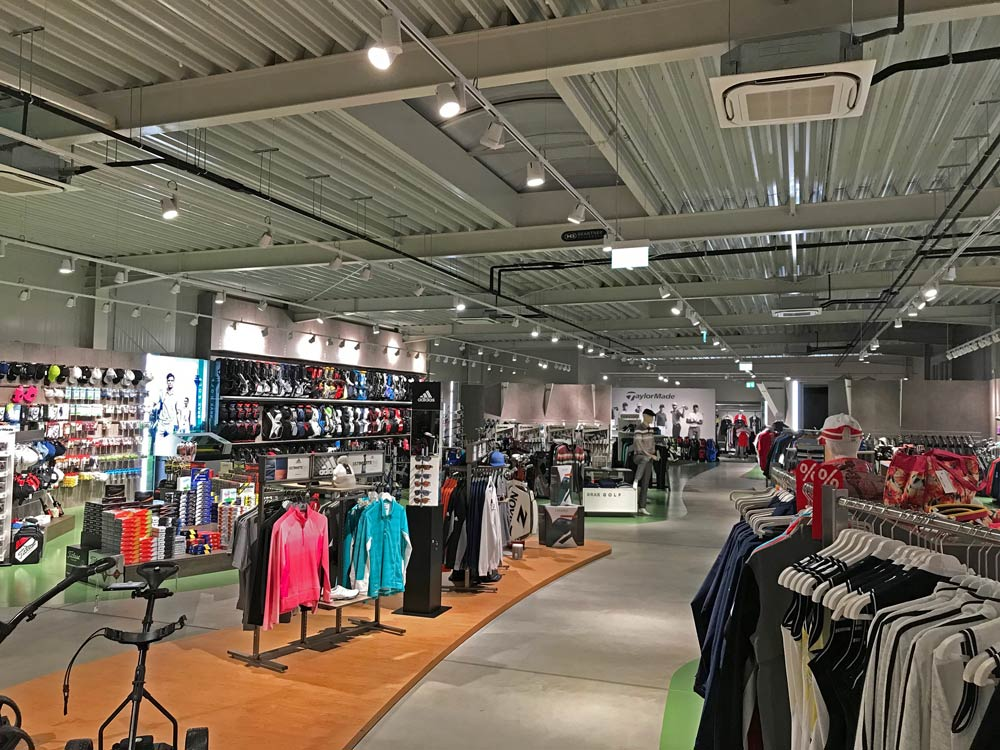 SML LED Stromschienenstrahler SAMO Golfstar Shop