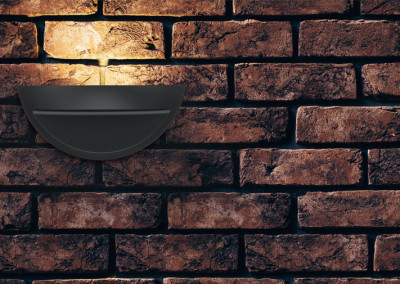 Vest LED Wandleuchte ohne Abdeckung Fassade
