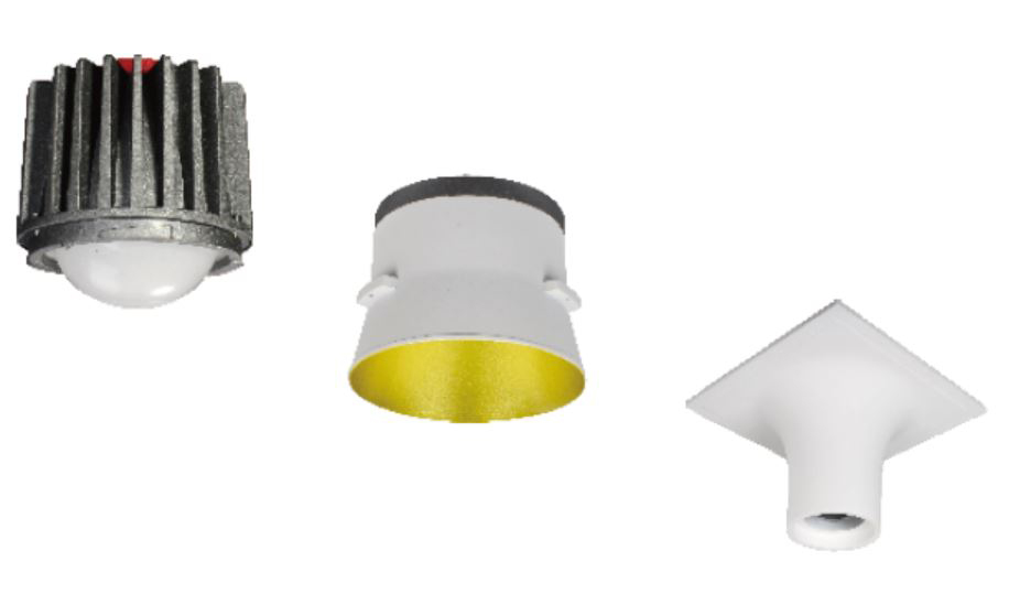 Vulcano Gibskarton LED Downlight