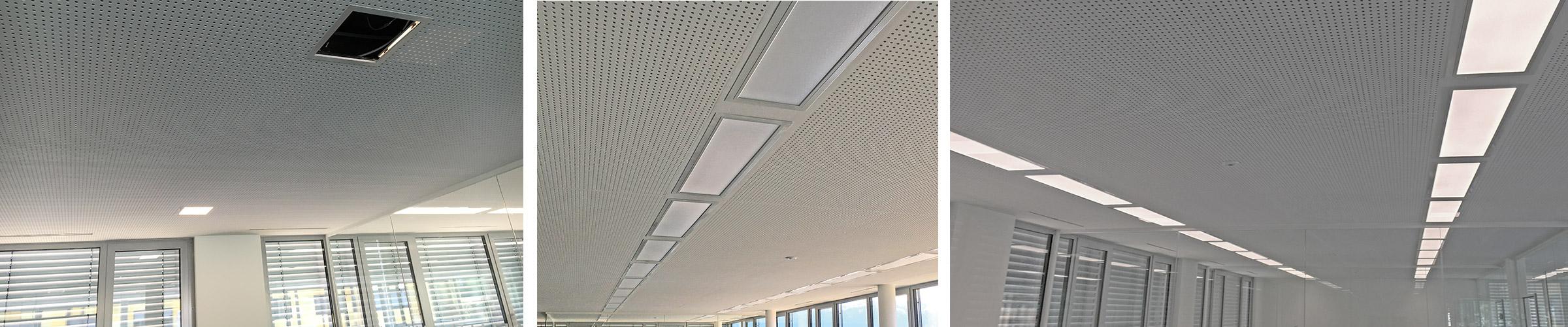 Büro PORR mit SML LED Produkten