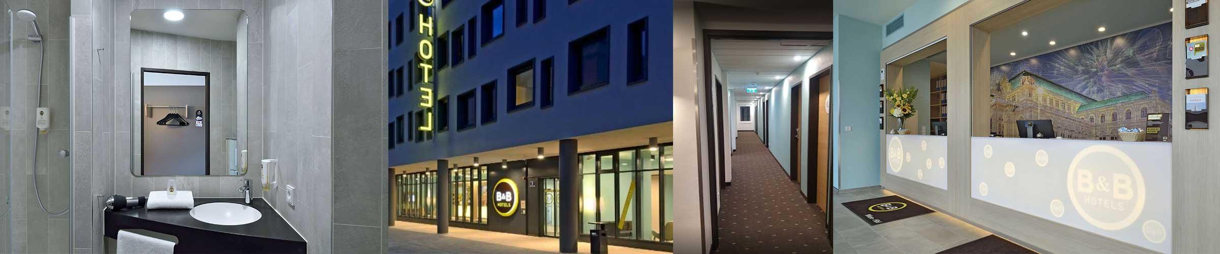 B&B Hotel Wien Hauptbahnhof mit Dive von SML LED