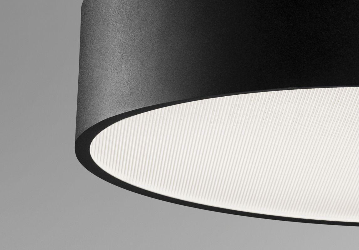 Duge LED Anbauleuchte mikroprismatische Abdeckung