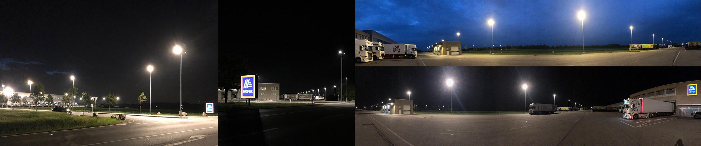 Hofer Trumau mit SML LED Leuchten