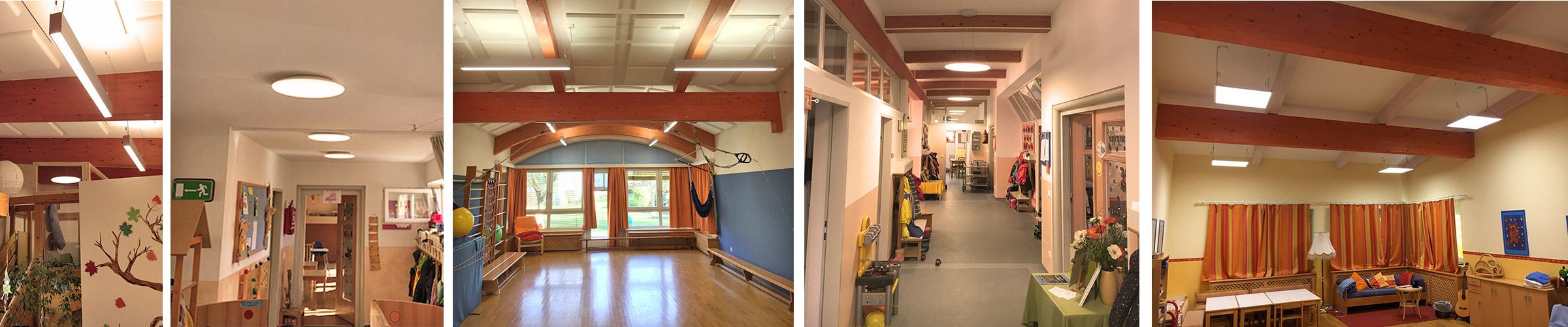 Kindergarten mit SML LED Produkten