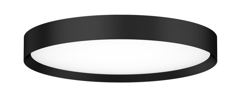 Roma curvy LED Anbauleuchte schwarz