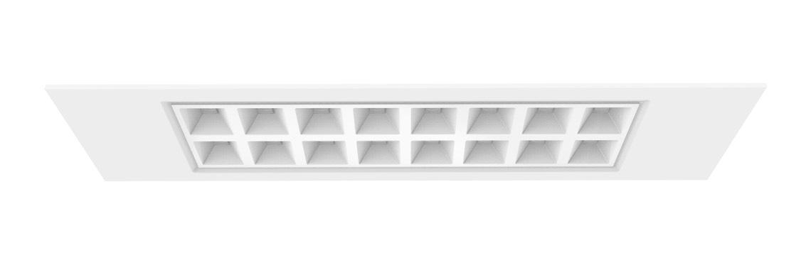 LED Deckenleuchte Ramos mit einstellbarer Lichtfarbe 1200x300mm