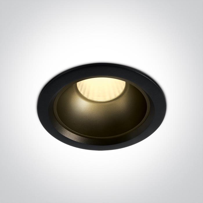 LED Downlight Fargo Schwarz Reflektor