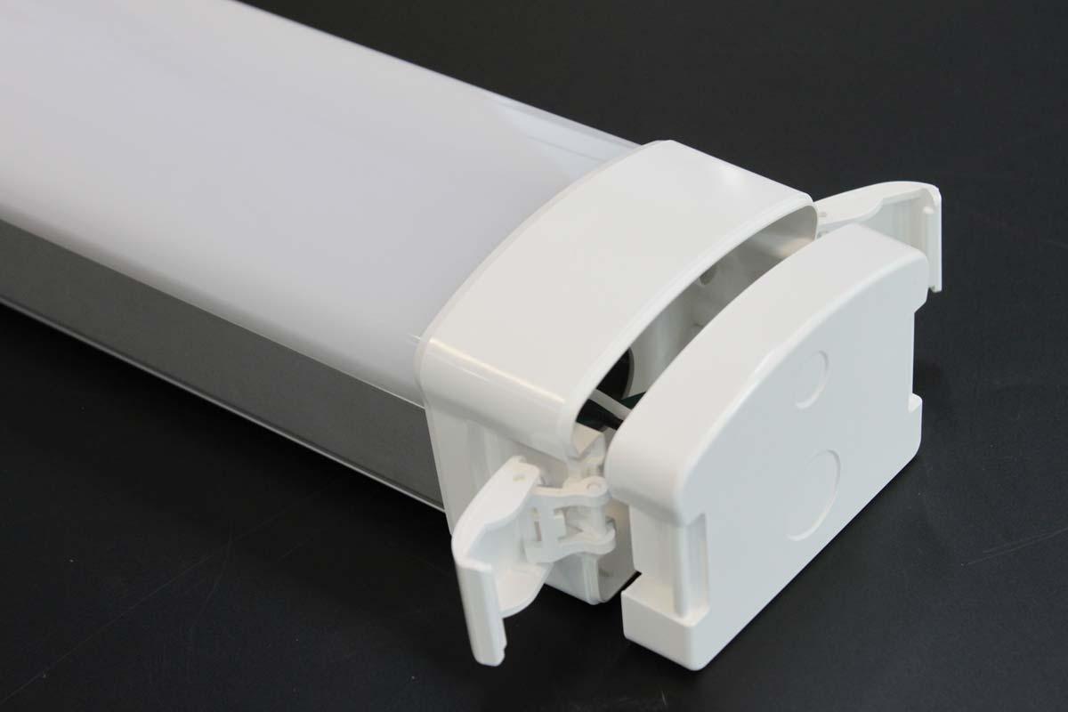 LED Feuchtraumleuchte IP65 Athos Schnellverschluss