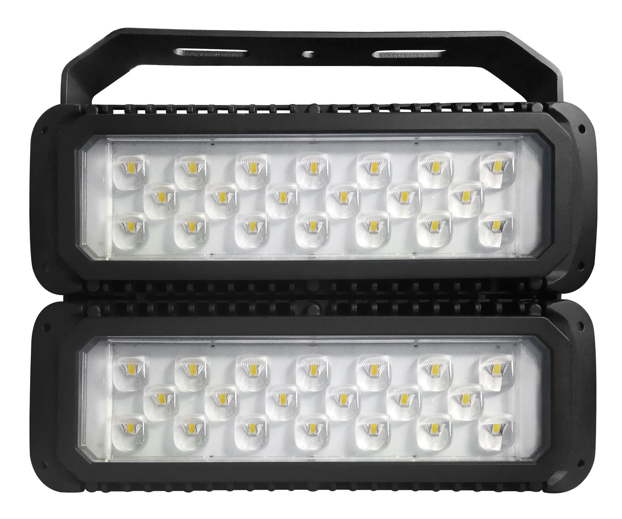 LED Fluter Maltos 150Watt mit asymmetrischen Abstrahlwinkel