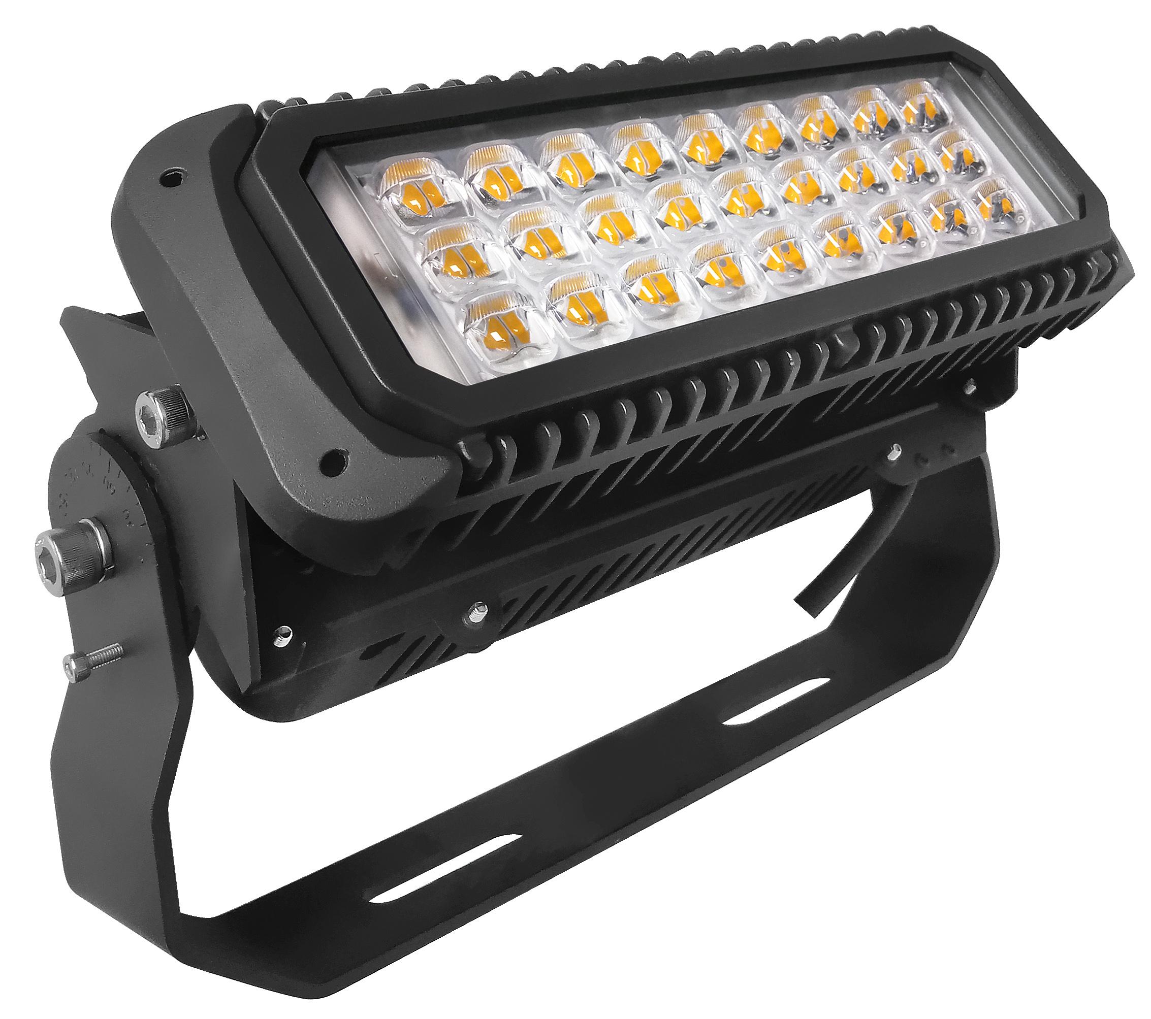LED Fluter Maltos 75Watt mit asymmetrischen Abstrahlwinkel
