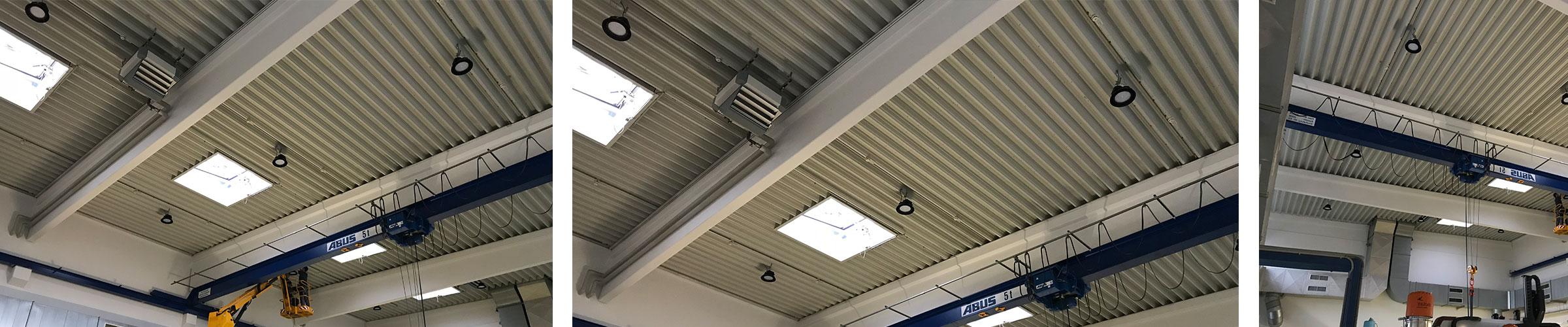 LED Industrieleuchte LED Hallenleuchte SML LED