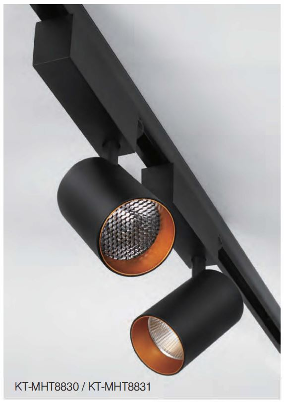 LED Leuchten Serie Lexo Stromschienenstrahler