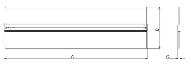 LED Pendelleuchte direkt indirekt Mero Float Abmessungen
