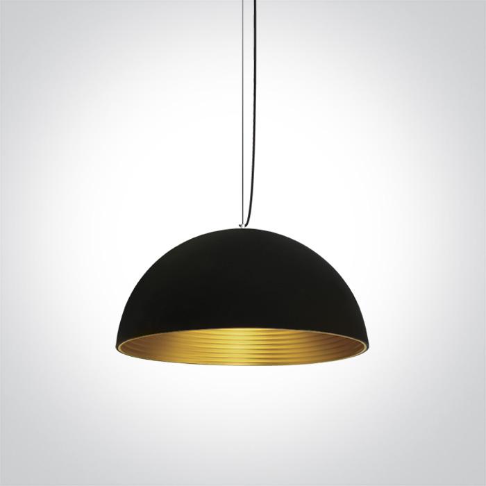 LED Pendelleuchte Fando schwarz
