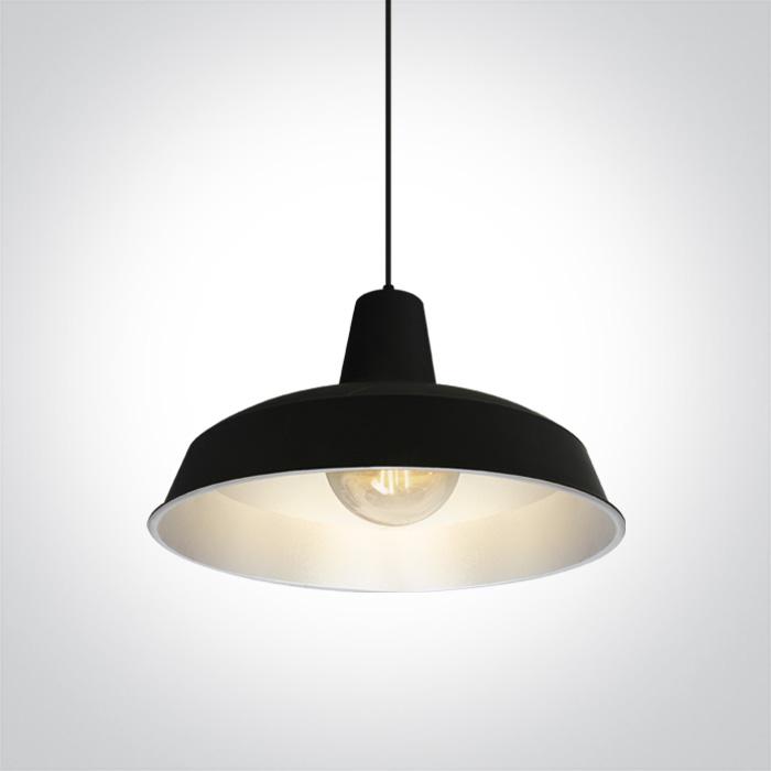 LED Pendelleuchte Nando schwarz
