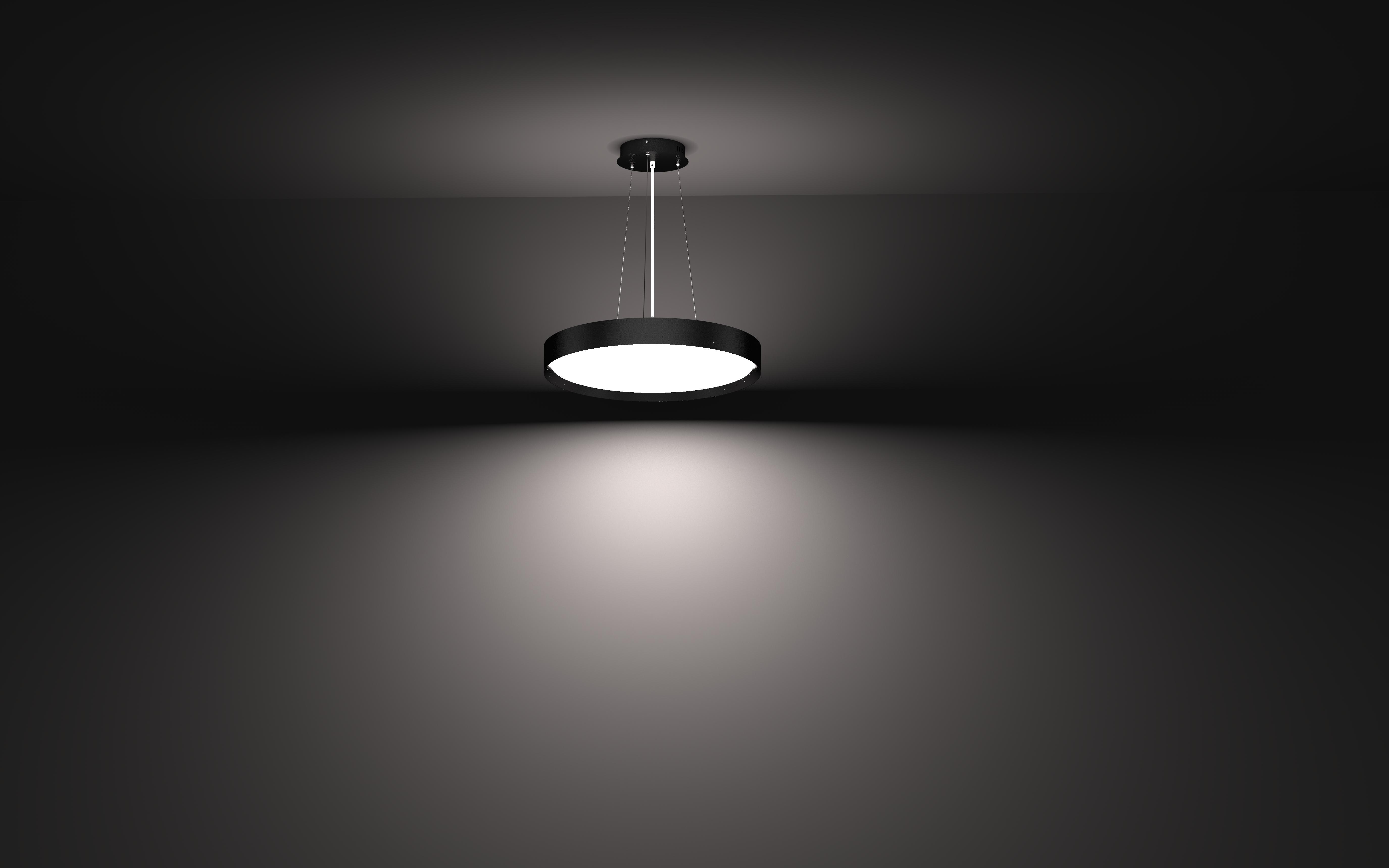 LED Roma Flat Pendelleuchte indirekt strahlend