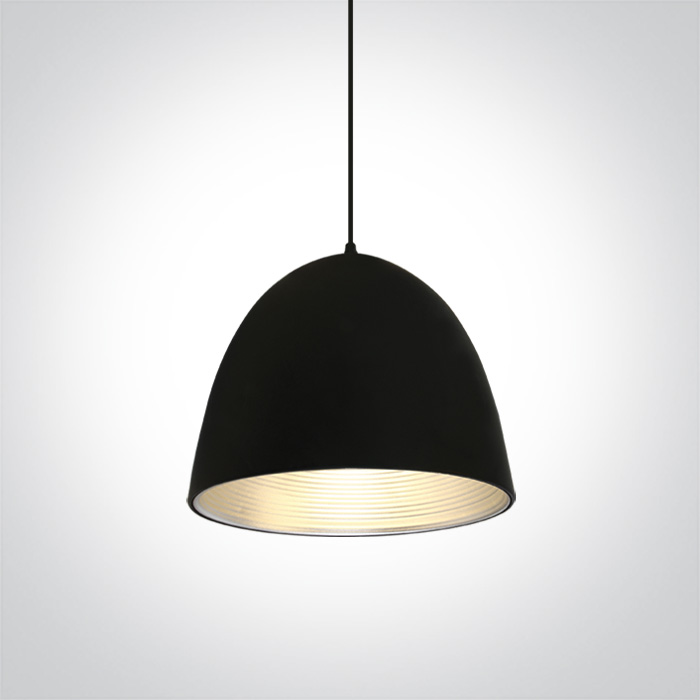 LED Pendelleuchte Sando schwarz