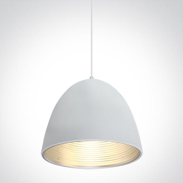 LED Pendelleuchte Sando weiß