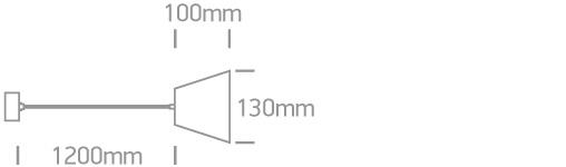 LED Pendelleuchte Xando Abmessungen