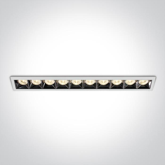 Lineare Einbauleuchte Kolma 10 Module SML LED