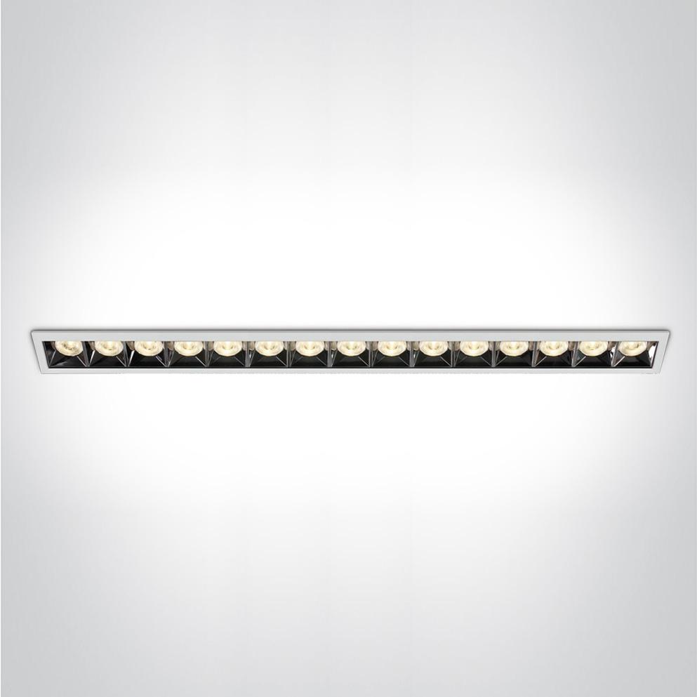 Lineare Einbauleuchte Kolma 15 Module SML LED