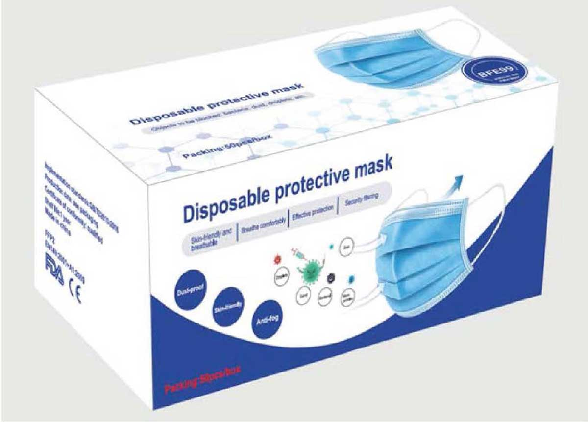Mundschutzmasken | Smart mit LED SML LED