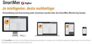 LED Lichsteuerung smartmon ZigBee mit Stromzählung für LED Hallenbeleuchtung