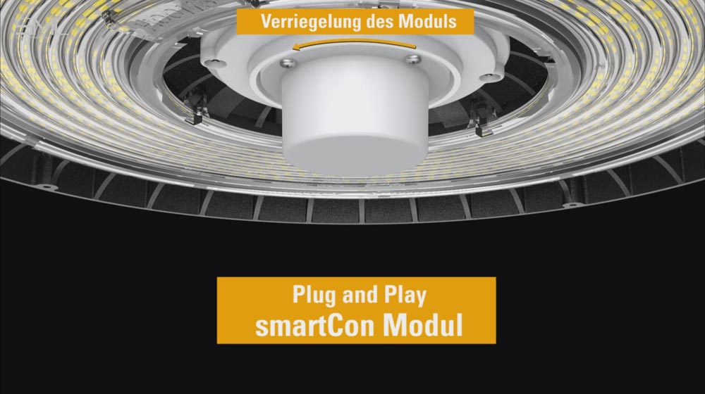 SML LED Titan Montage smartCon Modul von SML LED