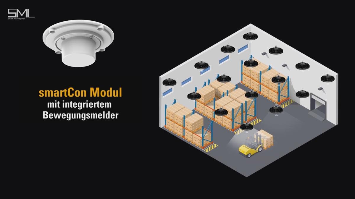 SML LED smartCon ZigBee Modul mit Bewegungsmelder