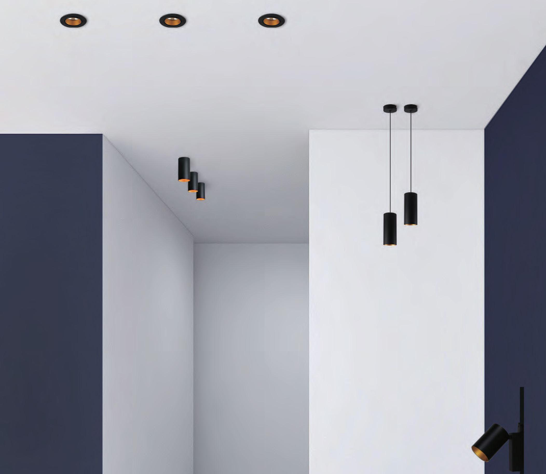 LED Leuchten Serie Lexo Einbaustrahler