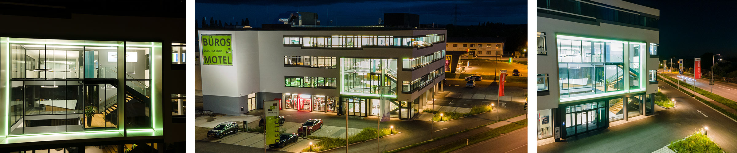 Office Base Bad Vöslau mit Tunable White Leuchten von SML LED