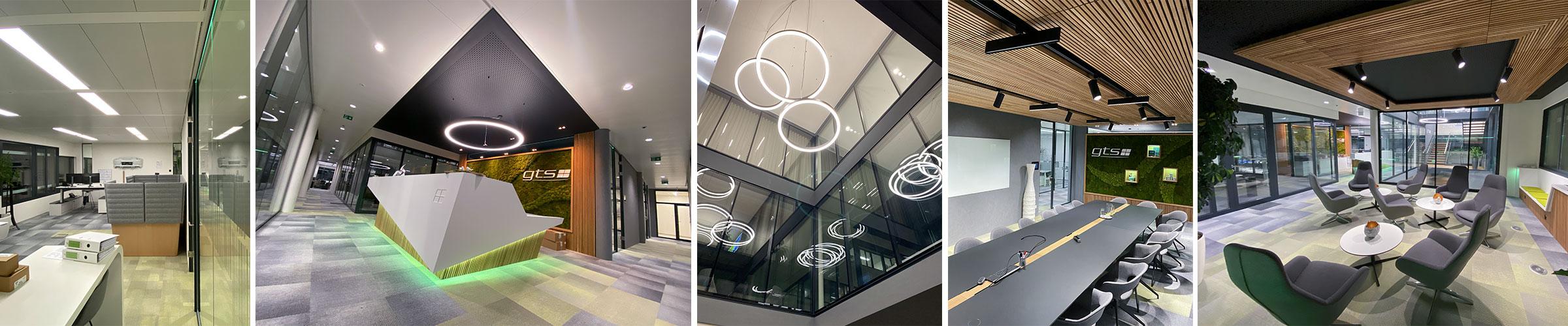 SML LED Office Base Bad Vöslau mit Tunable White Leuchten