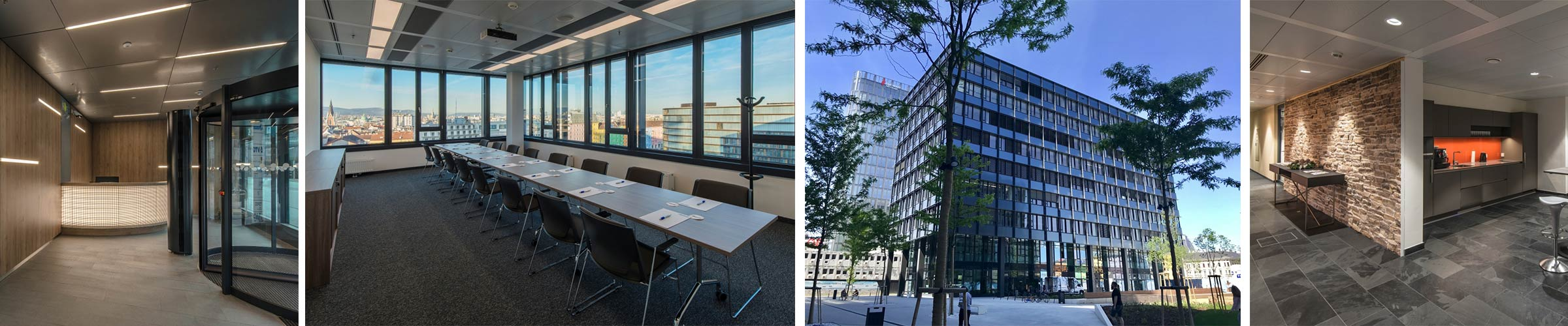 Bürohaus mit SML LED Produkten