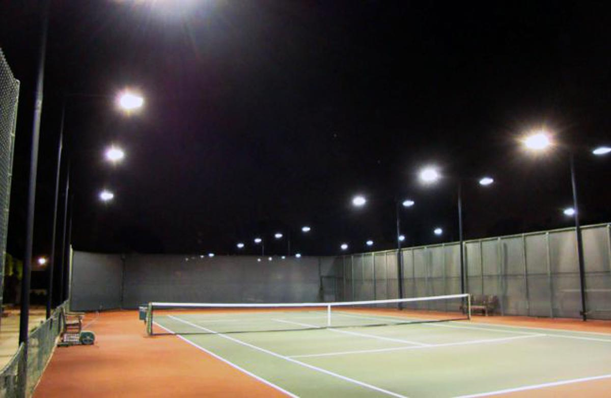 LED Fluter Solax Tennisplatzbeleuchtung