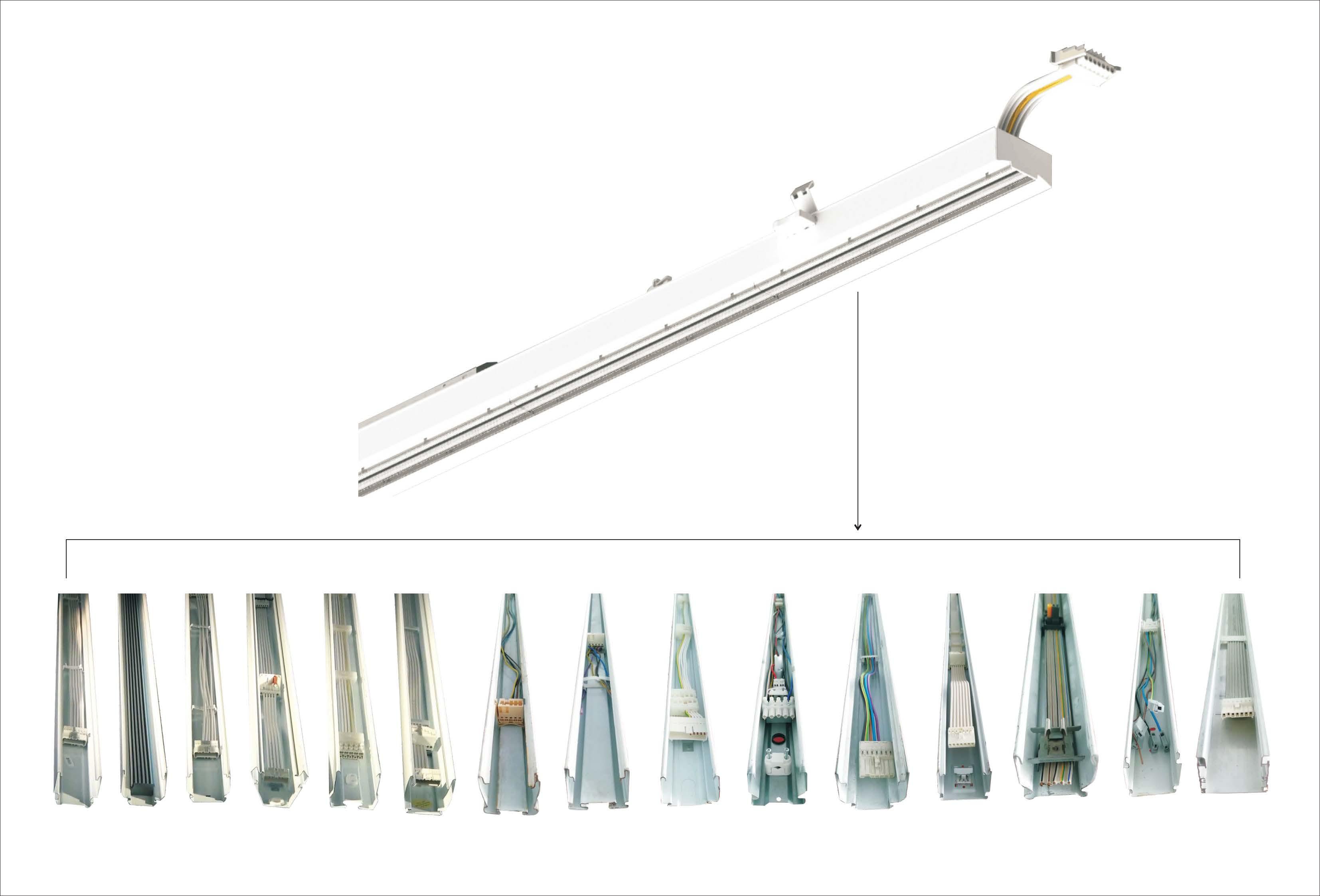 universal retrofit leuchtenmodul lichtbandsystem sml