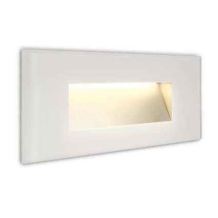 LED Wandeinbauleuchte Leila weiß
