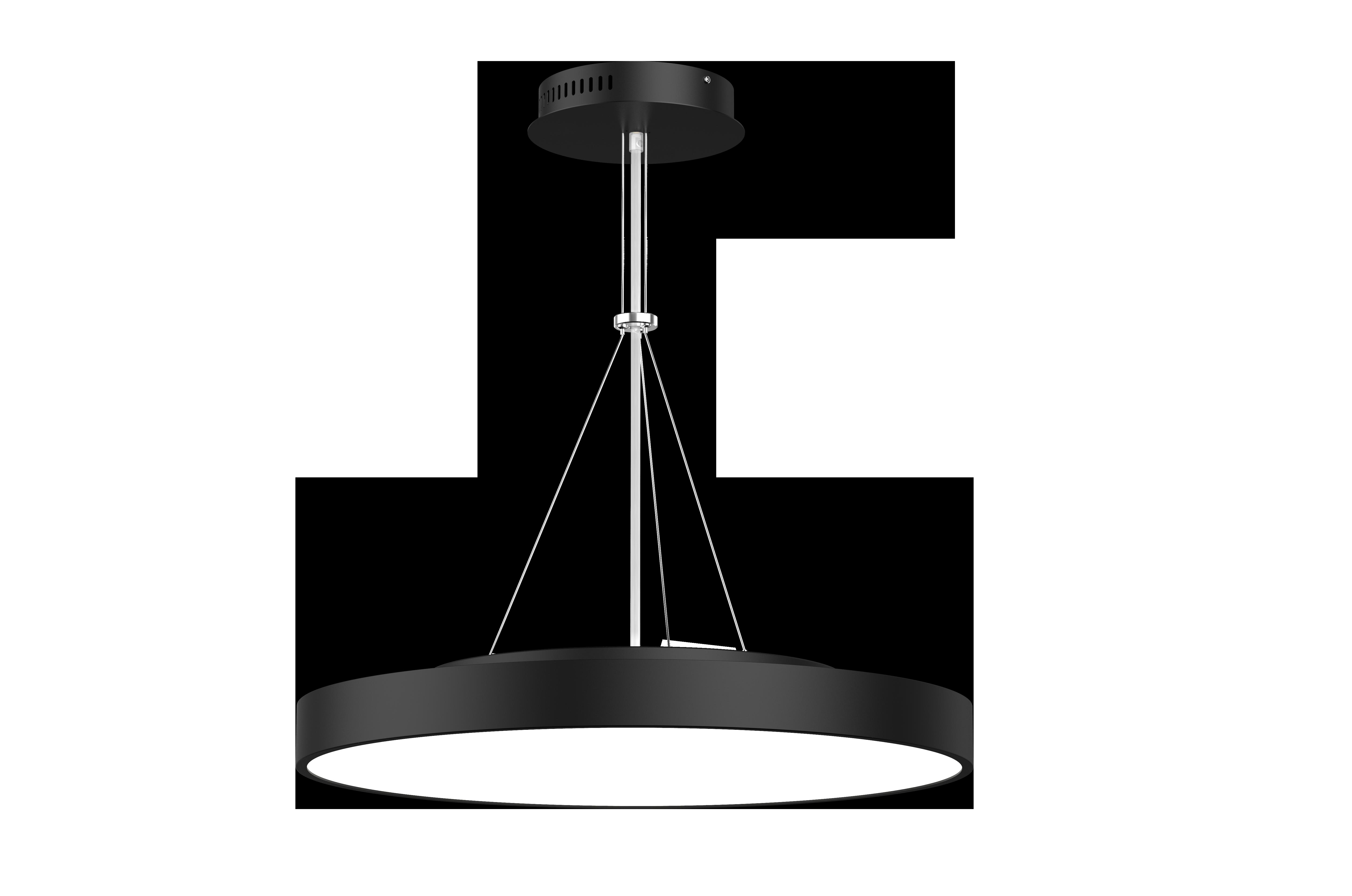 LED Hängeleuchte mit y-Seilabhängung Roma flat